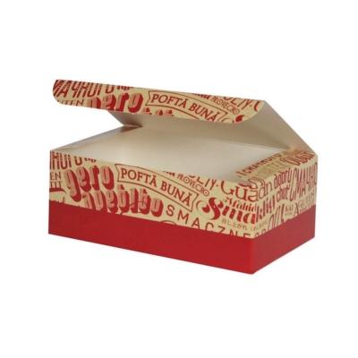 Box groß für fried chicken