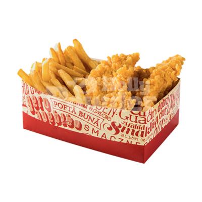 box mit fried chicken