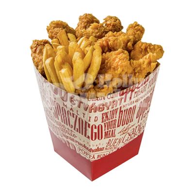 Bucket mit Hähnchen in Knusperpanade wie bei KFC