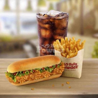 chicken hot dog menü A7