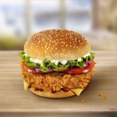 Crispy Chicken Burger A1