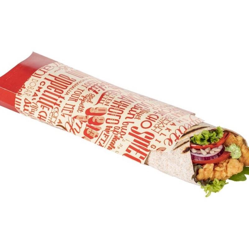 moderne Verpackung für Tortillas