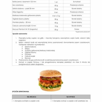 Rezept für Chicken Burger