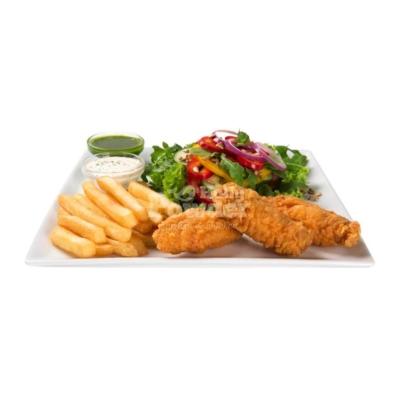 Salat mit Hot Wings wie bei kfc Y5