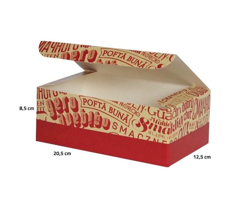 Große Box für Hähnchen