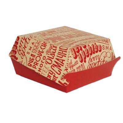 Verpackung für Chickenburger