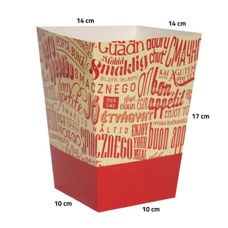 Verpackungen für knusprig panierte Hähnchen