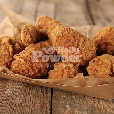 wraps und salate mit crunchy chicken 31E