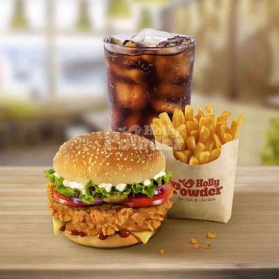 Chicken Burger Fotos a la kfc A2